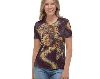 Women's T-shirt Horse