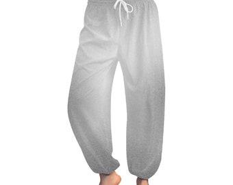Women's Grey Wash Harem Pants