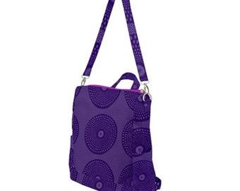 Crossbody Backpack Purple