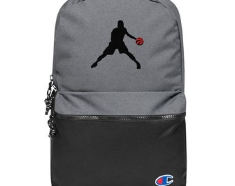 Embroidered Champion Backpack Basketball