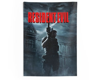 Indoor Wall Tapestries Resident Evil