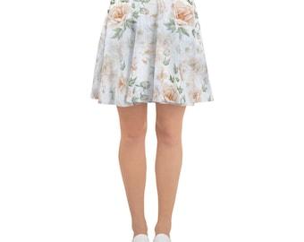 Skater Skirt Floral Wash