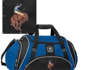 Crunch Duffel Bag Bucking Bronco