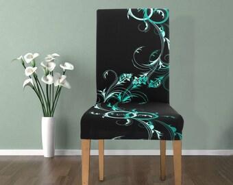 Chair Slip Cover Swirl
