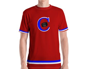 Men's T-shirt Hockey Night