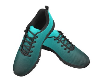 Women's Breathable Running Shoes Turquoise Blend