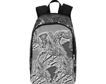 Backpack Horse Sketch