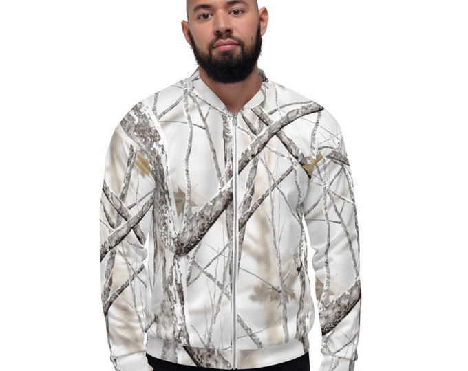 Featured listing image: Men's Bomber Jacket Winter Camo