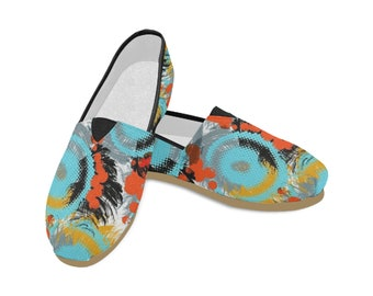Women's Casual Canvas Slip On Shoes