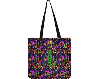 Re-usable Shopping Bag Printed Symbols