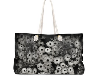 Weekender Bag Dark Daisy