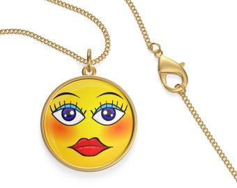 Single Loop Necklace Emoji