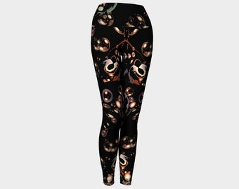 Midnight Champagne Yoga Leggings