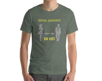 Short-Sleeve T-Shirt Social Distance