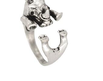 Rhinoceros ring Adjustable