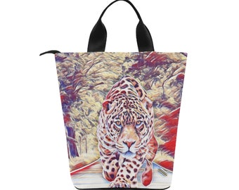 Lunch Bag Leopard