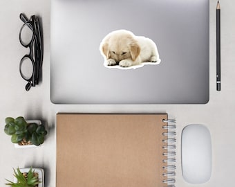 Bubble-free stickers Puppy