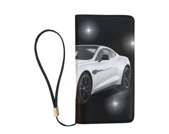 Men's Clutch Wallet Sportscar Design