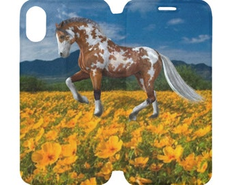 iPhone X XS Case Cover Horse