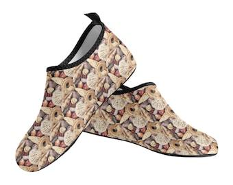 Women's Slip On Water Shoes seashells