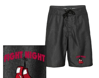 Men's fight Night Board Shorts