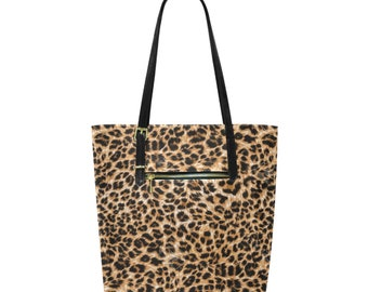 Tote Bag Leopard Print
