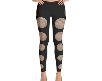 Woman's Leggings Mesh Stocking