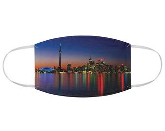 Fabric Face Mask Toronto Skyline