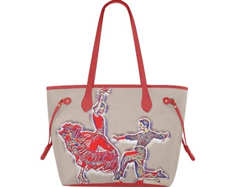 Tote Bag Canvas Tango