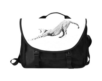 Laptop Handbag 15 Inch Cheetah Print