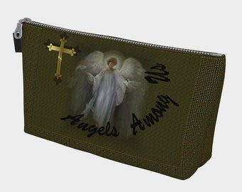 Angels Among Us Make Up Bag