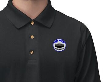 Men's Jersey Polo Shirt True North Hockey