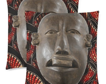 Square Pillow Cases Two Piece African Style