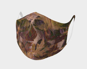 Autumn Leaves Face Mask