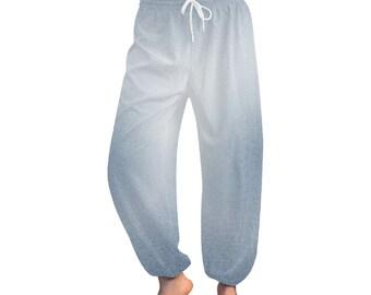 Women's Blue Wash Harem Pants