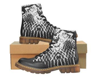 Men's Apache Boots Snakeskin