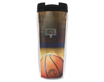 Travel Coffee Cup Basketball