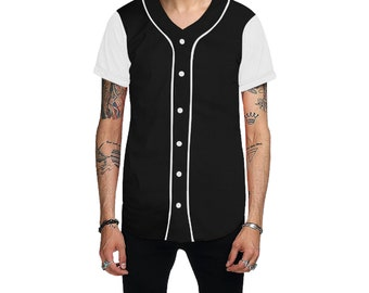 Men's Custom Baseball Jersey