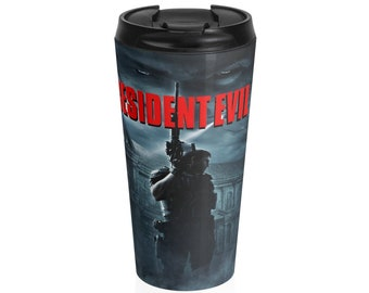 Stainless Steel Travel Mug Resident Evil