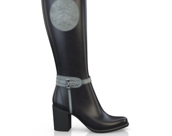 Women's Elegant Leather Boots