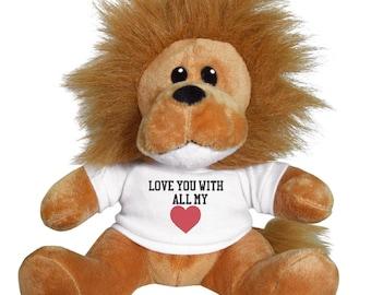Lion Love Stuffed Animal