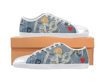 Women's Canvas Denim Sneakers