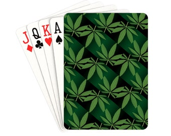 Playing Cards Weed