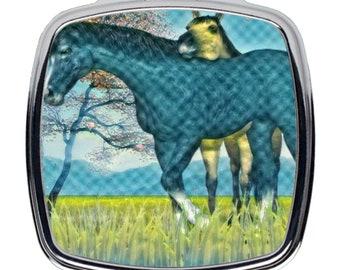 Compact Mirrors Horses
