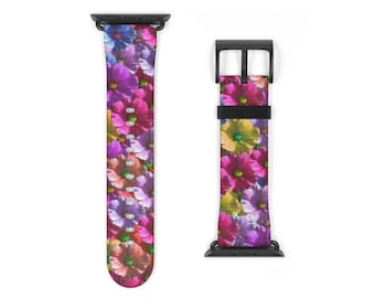 Watch Strap Flowers