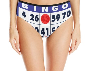 Women's Mid Rise Briefs Bingo