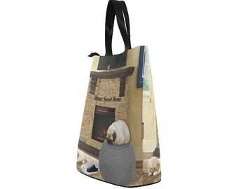 Nylon Lunch Bag Home Sweet Home