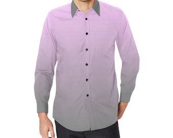 Men's Button Long Sleeve Shirt