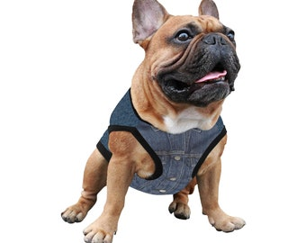 Dog Vest Denim