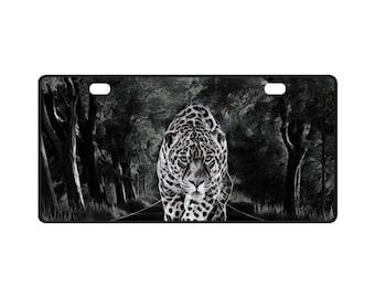 License late Smokey Leopard Print